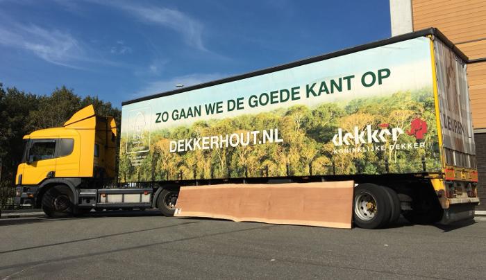Dekker Hout truck