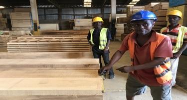 Factory workers Ghana