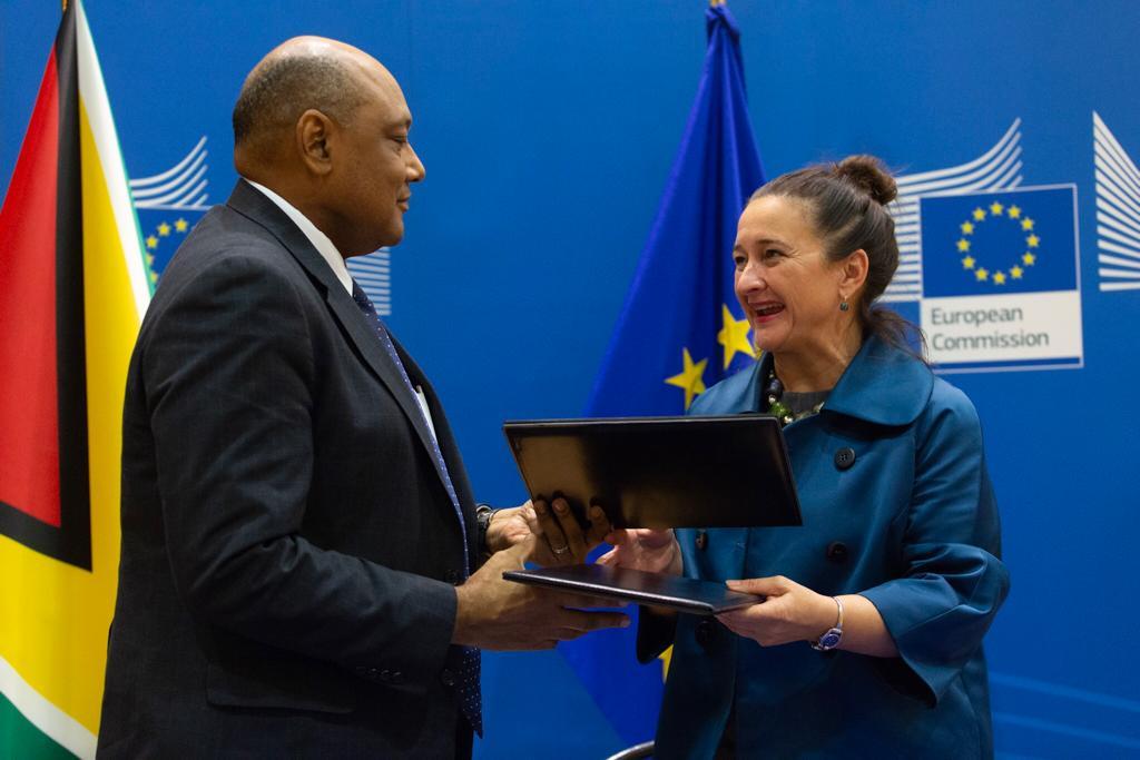 Guyana and EU sign VPA