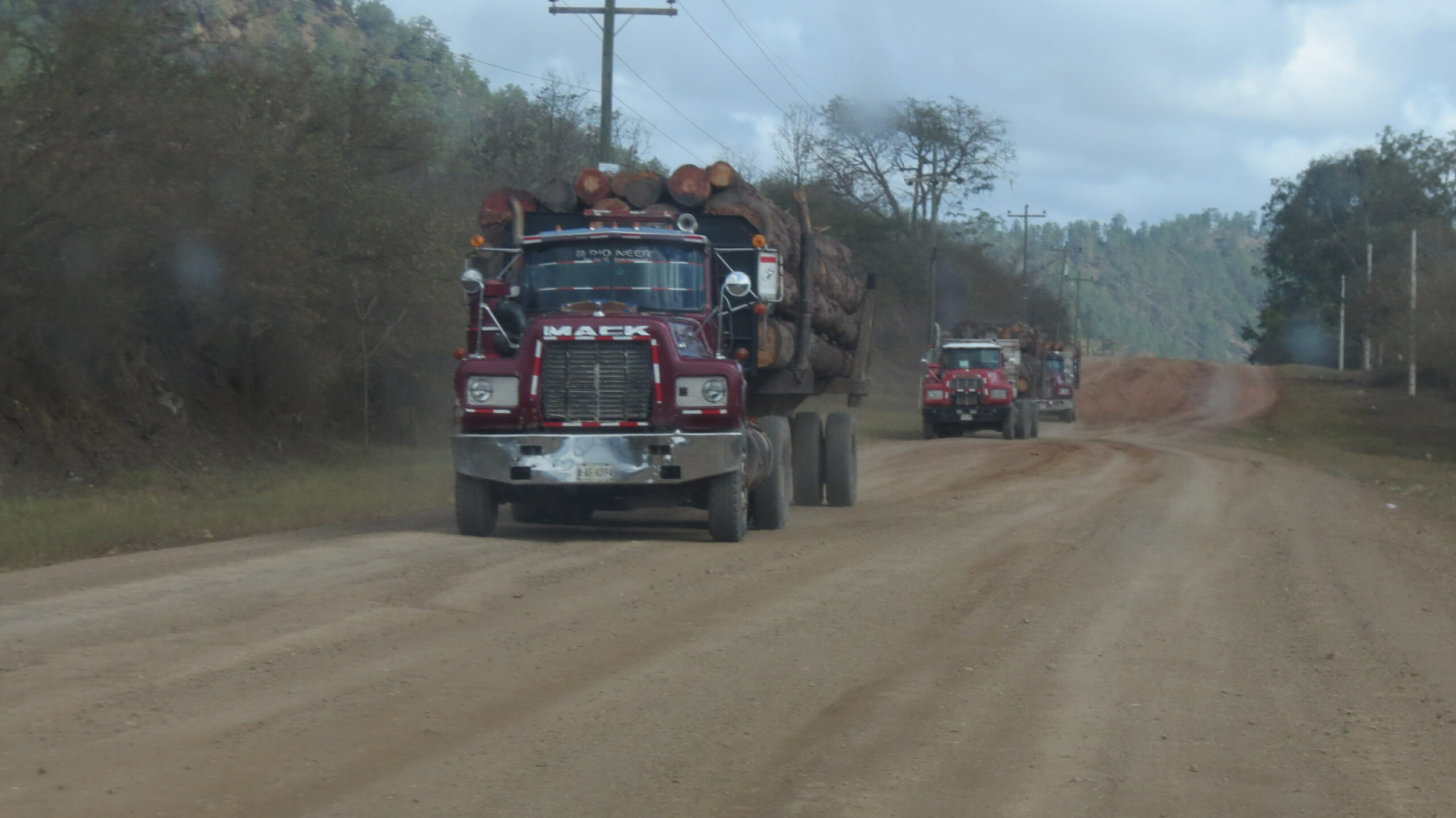 Honduras logging trucks D Membreno5221