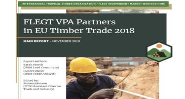 IMM 2018 Annual Report: FLEGT VPA Partners in EU Timber Trade 2018