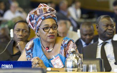 Minister Matondo speaks out for FLEGT